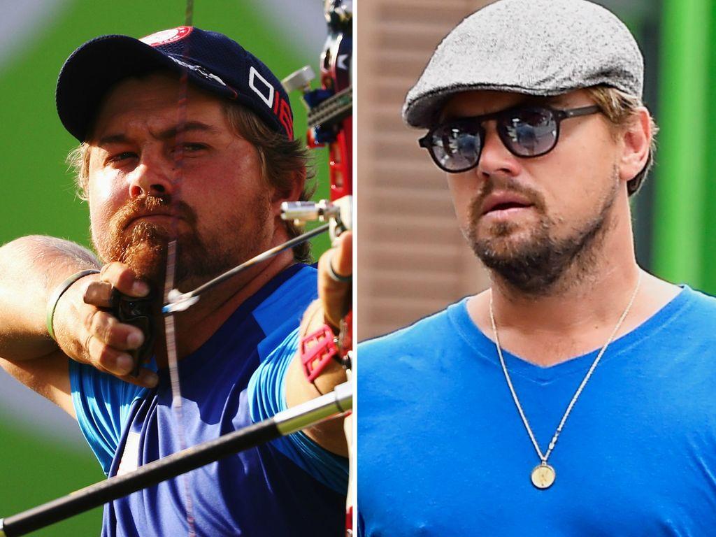 Brady Ellison und Leonardo DiCaprio