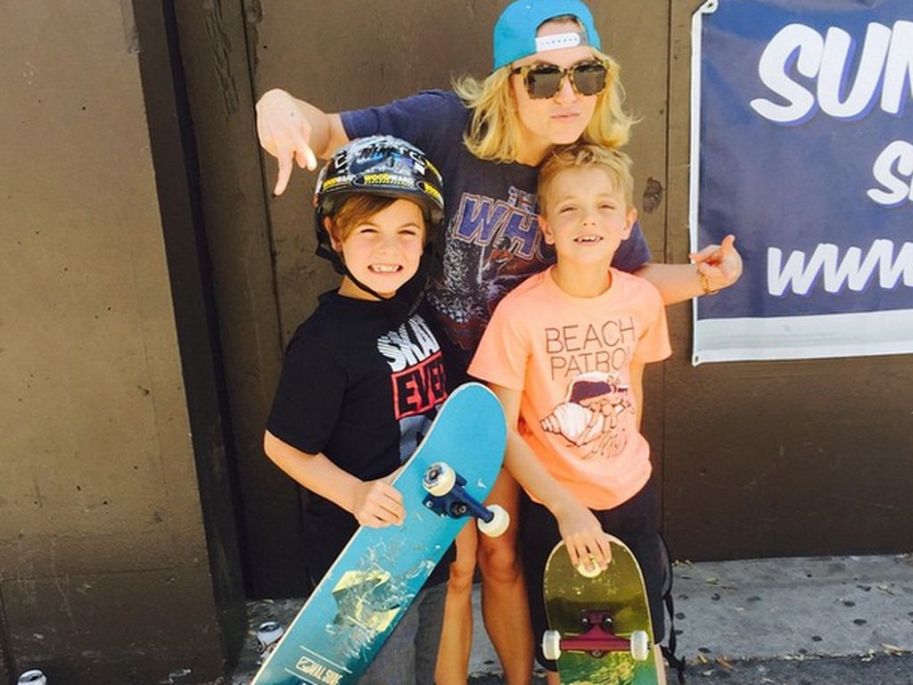 Britney Spears, Sean Preston Federline und Jayden James Federline