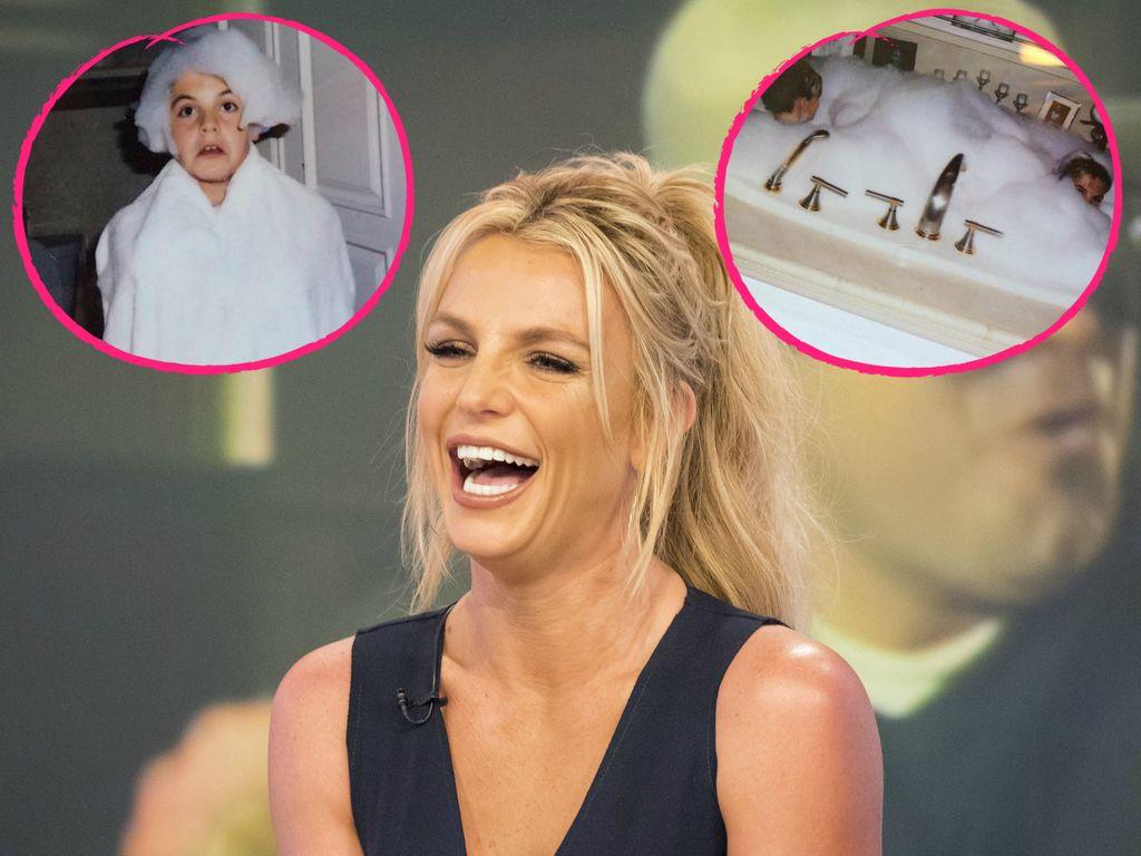 Britney Spears und ihre Söhne Sean und Jayden James