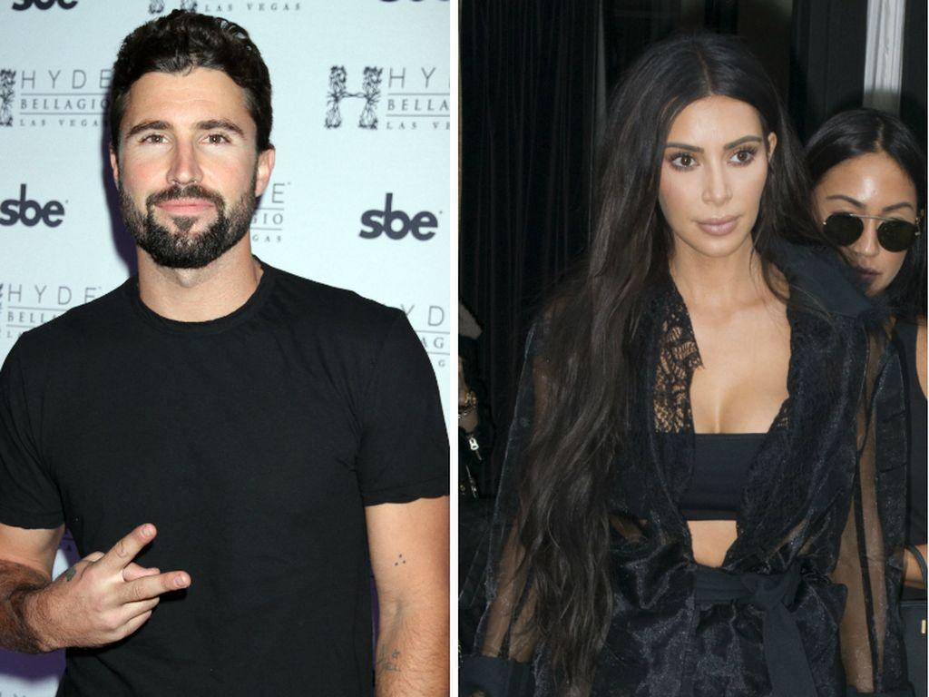 Brody Jenner und Kim Kardashian