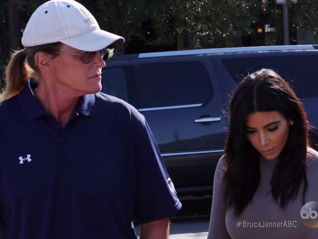 Kim Kardashian und Bruce Jenner