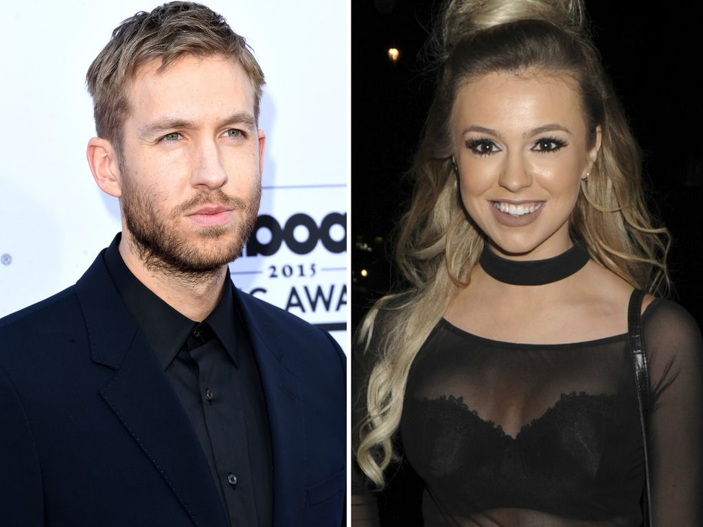 Calvin Harris und Megan Reed