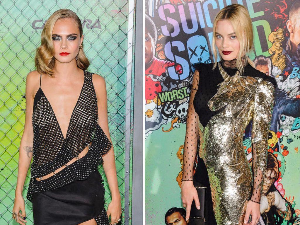 """Cara Delevingne & Margot Robbie auf der """"Suicide Squad""""-Weltpremiere in New York"""