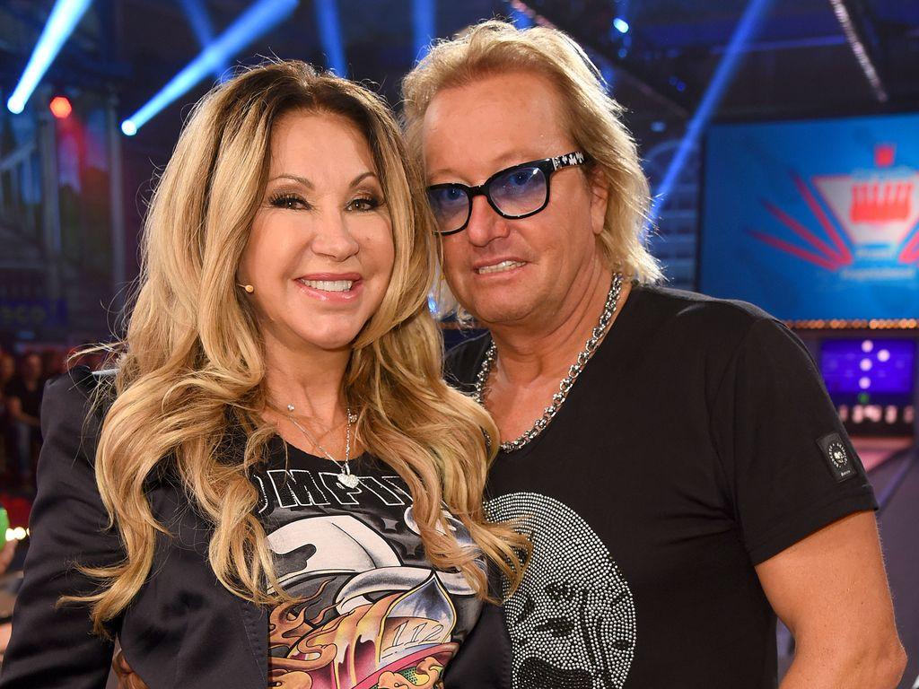 Carmen und Robert Geiss beim großen RTL 2-Promi-Kegelabend in Winterberg