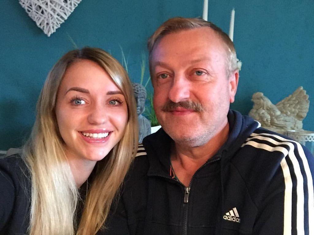 Cathy Lugner und ihr Onkel
