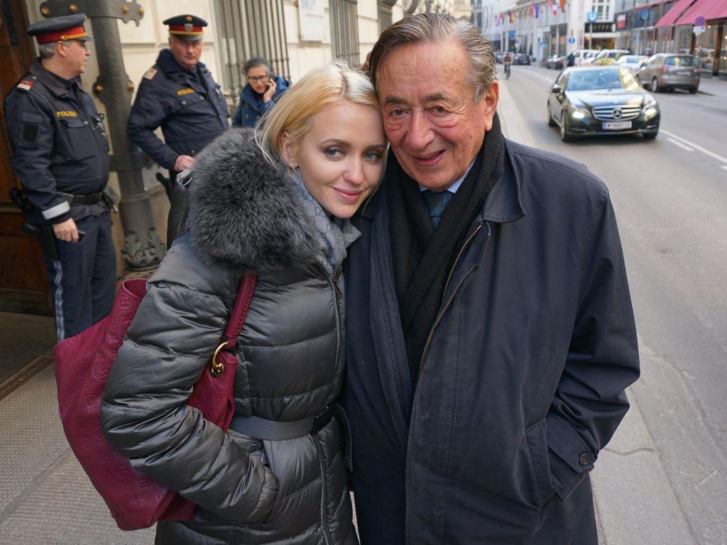 Cathy und Richard Lugner im März 2016 in Wien