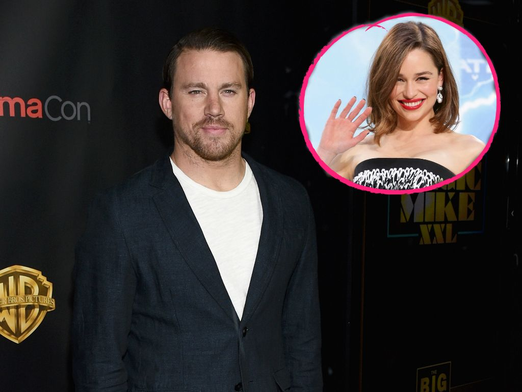 Emilia Clarke und Channing Tatum