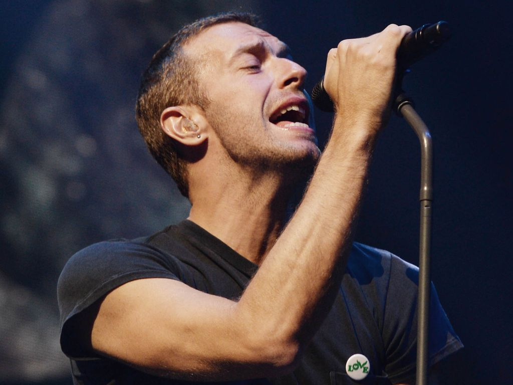 Coldplay und Chris Martin