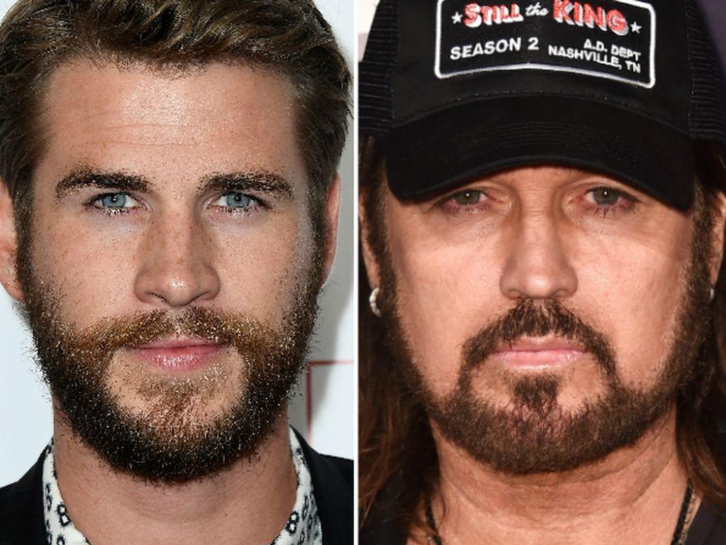 Liam Hemsworth und Billy Ray Cyrus