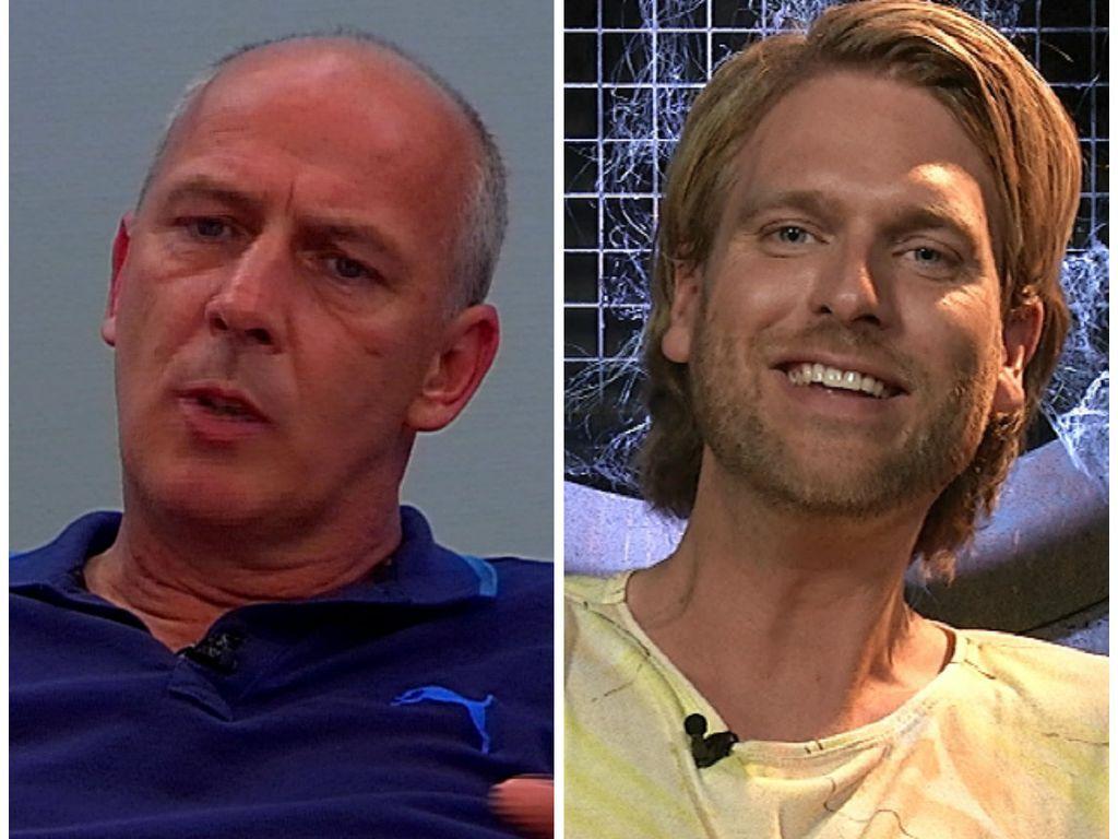 Ex-Fußballer Mario Basler und Moderator Robin Bade