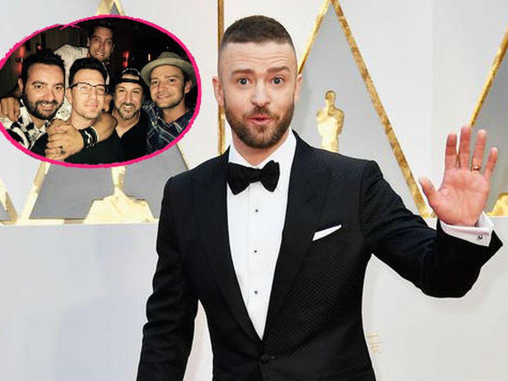 Collage mit Justin Timberlake und *NSYNC