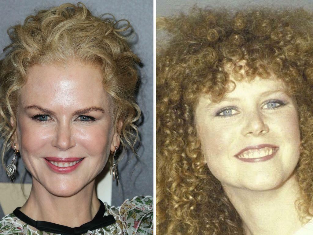 Oscar-Preisträgerin Nicole Kidman, 2016 und 1983