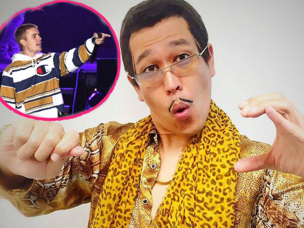 Justin Bieber steht auf Comedian Piko Taro