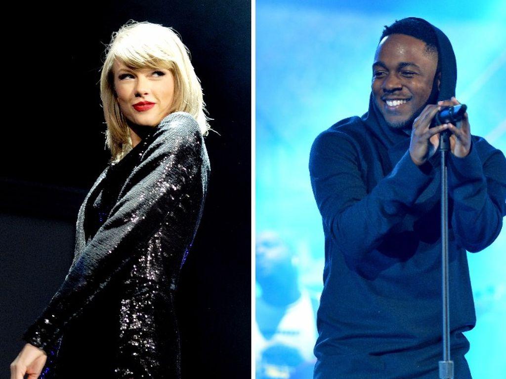 Taylor Swift und Kendrick Lamar