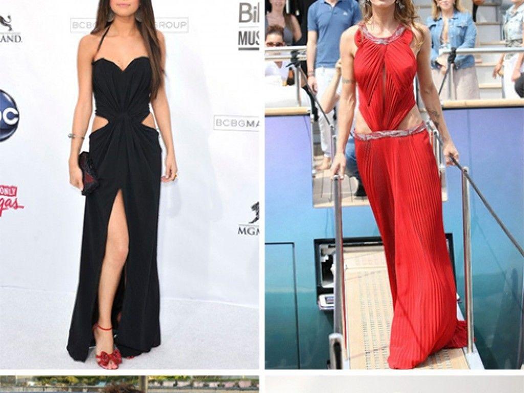 Selena Gomez, Halle Berry, Elisabetta Canalis und Karolina Kurkova