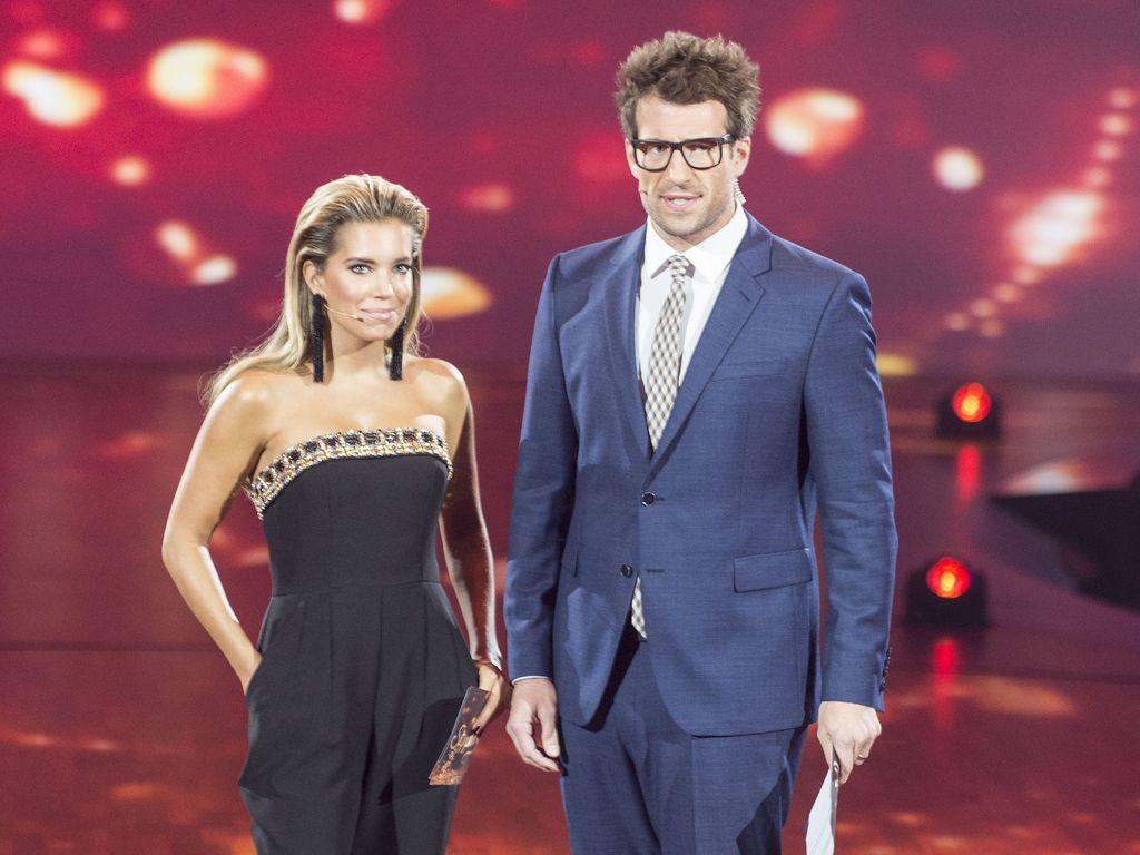 Sylvie van der Vaart und Daniel Hartwich