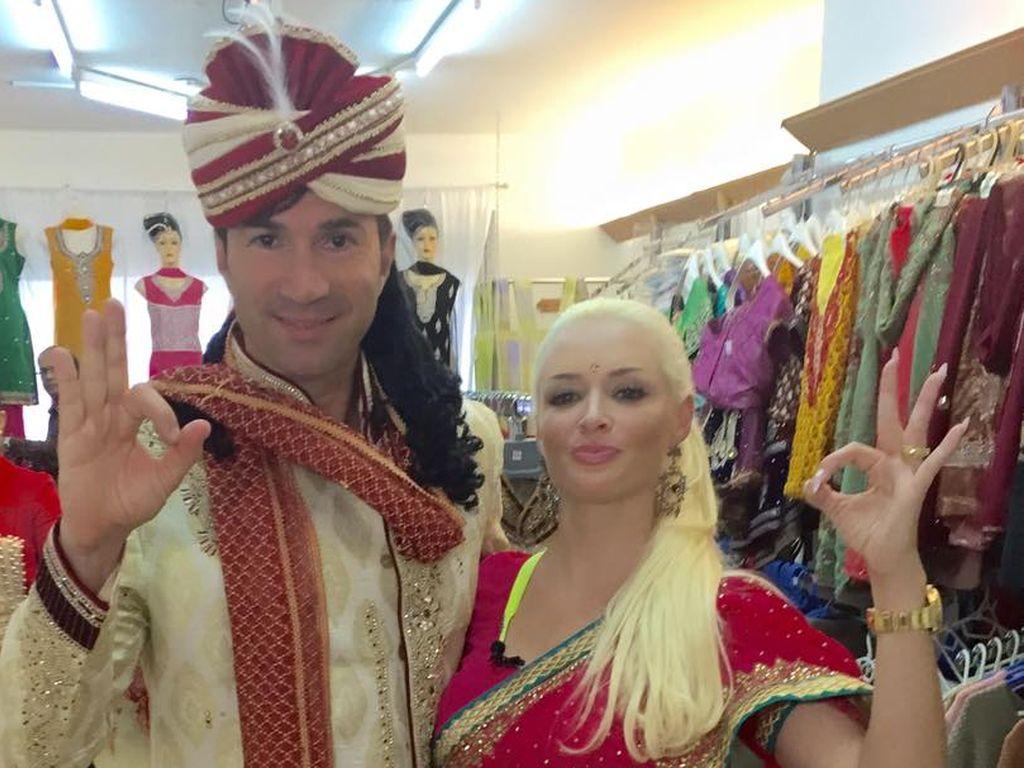 Daniela Katzenberger und Lucas Cordalis im Orient-Look