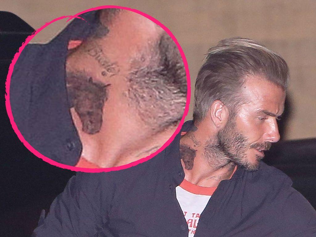 David Beckhams neues Pferde-Tattoo