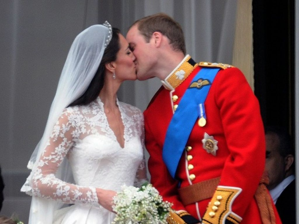 Der Kuss von William und Kate