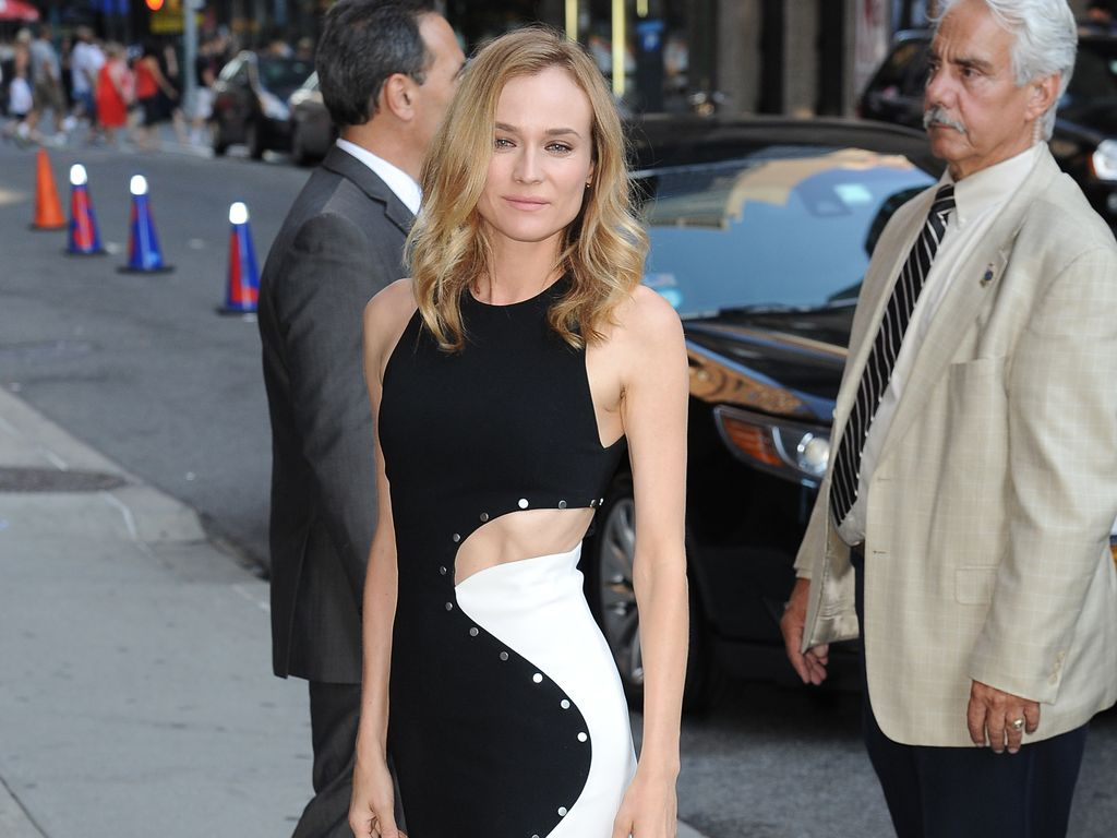 Diane Kruger in New York