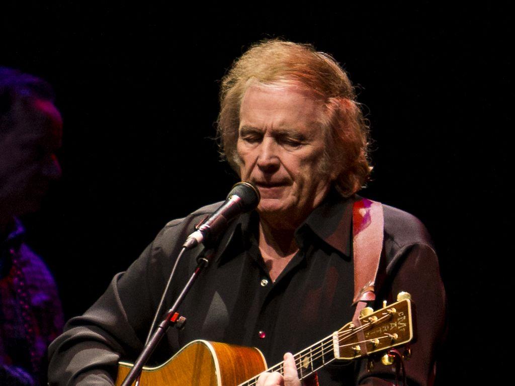 Don McLean bei einem Konzert im schottischen Edinburgh