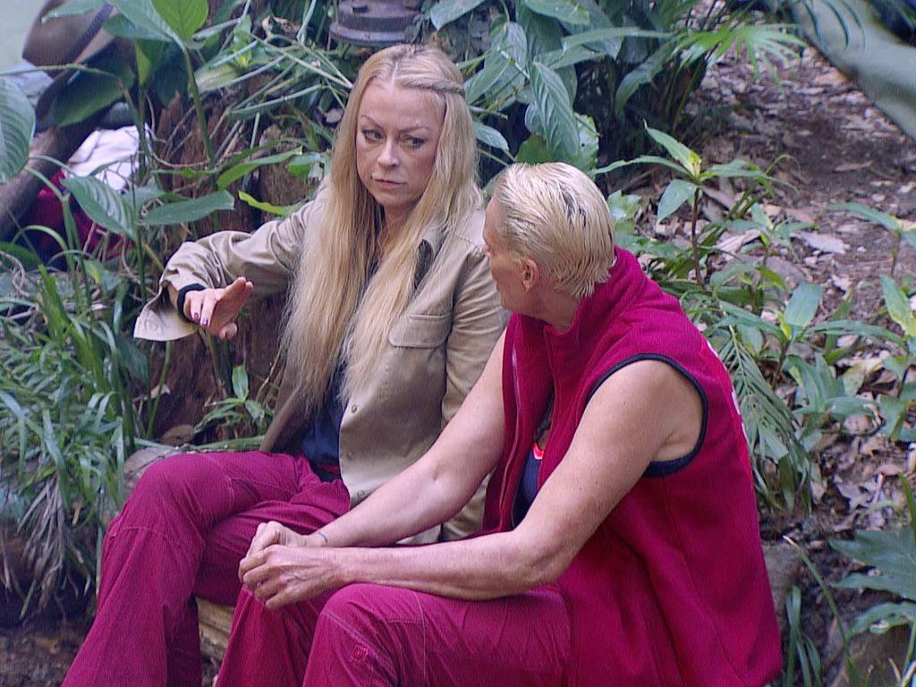 Jenny Elvers und Brigitte Nielsen