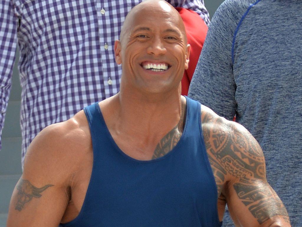 "Dwayne ""The Rock"" Johnson beim Dreh zu ""Baywatch"""