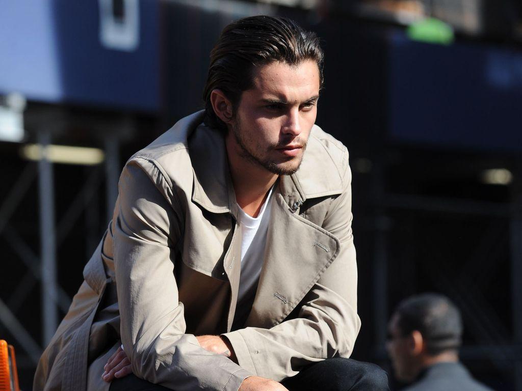 Dylan Rieder bei einem DKNY-Shooting in New York