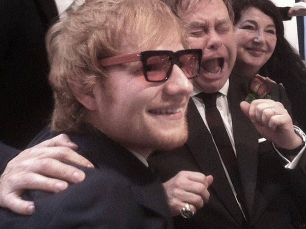Ed Sheeran und Elton John
