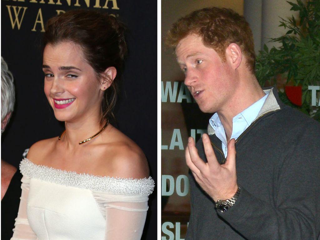 Prinz Harry und Emma Watson