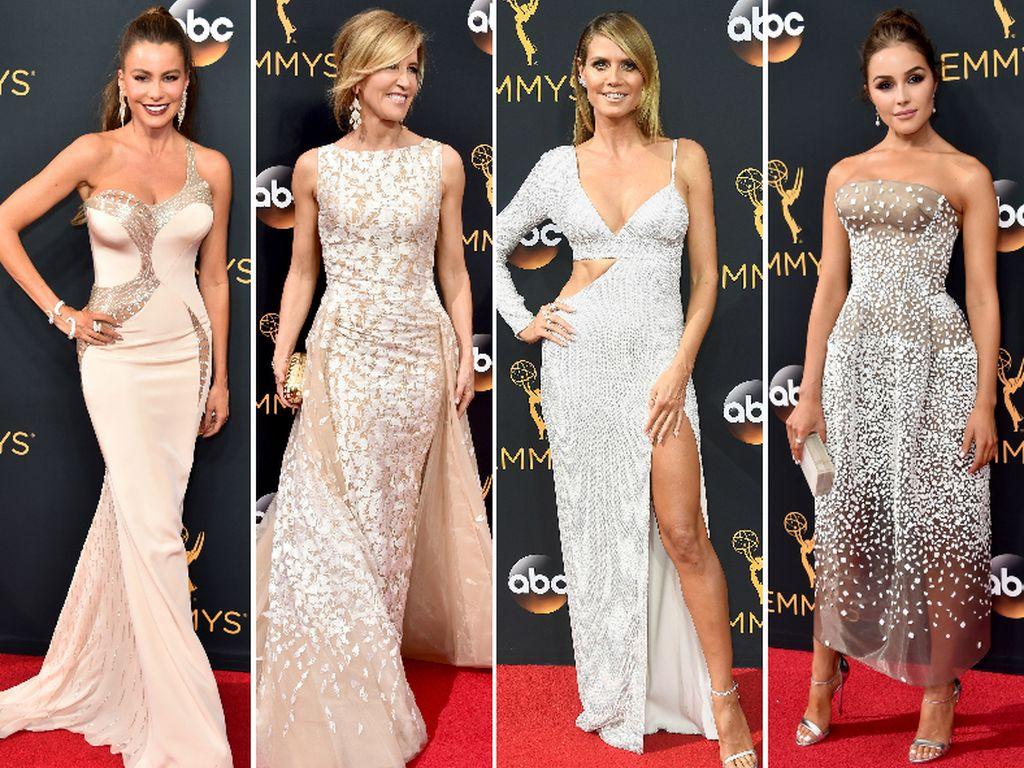 Sofia Vergara, Felicity Huffman, Heidi Klum und Olivia Culpo bei den Emmys 2016