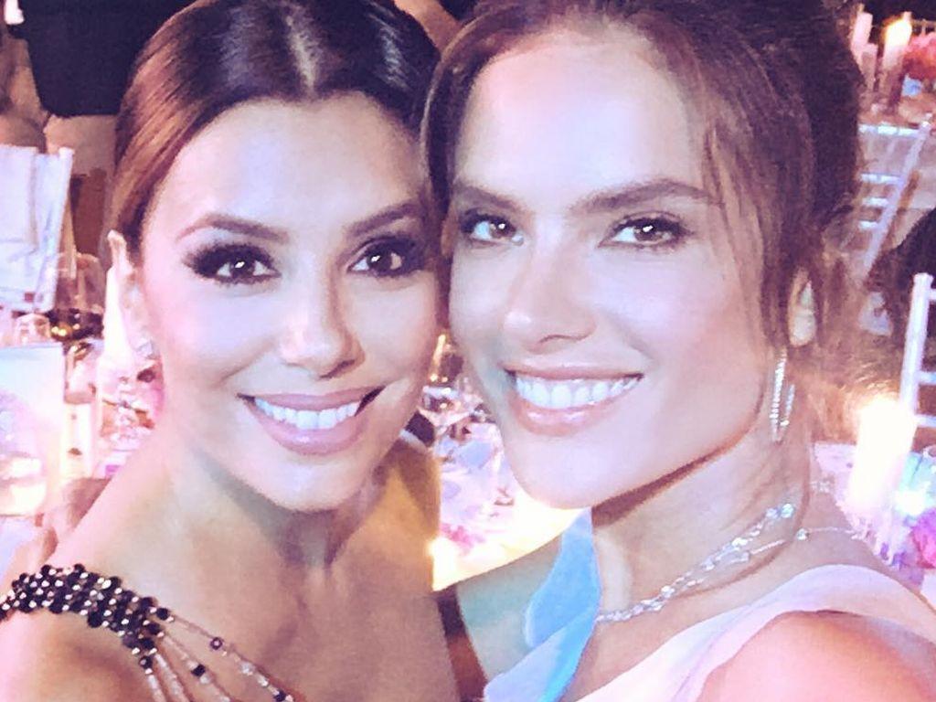 Eva Longoria und Alessandra Ambrosio bei der Global Gift Gala 2016