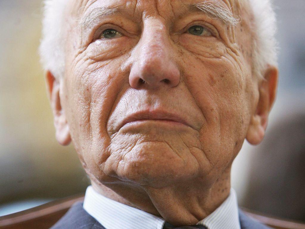 Ex-Bundespräsident Walter Scheel