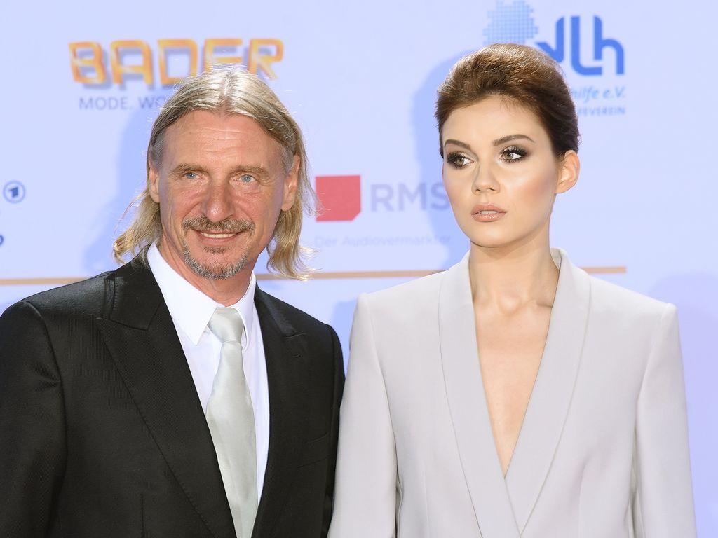 """Frank Otto und Nathalie Volk, """"Deutscher Fernsehpreis"""" 2016"""