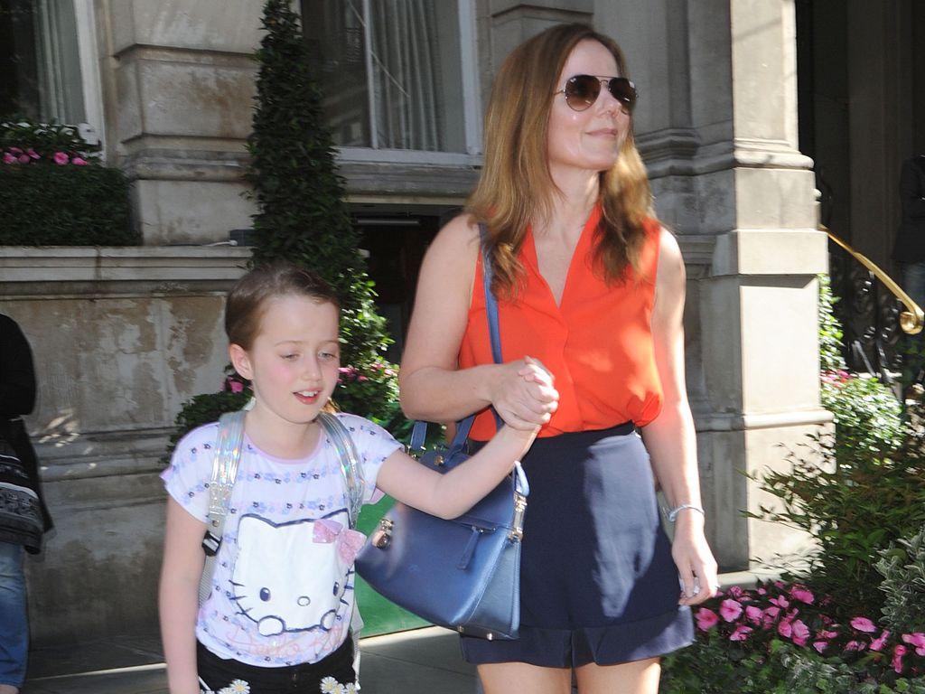 Geri Halliwell und ihre Tochter Bluebell