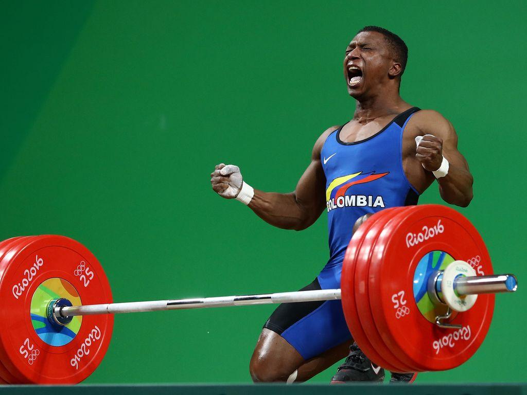 Olympiasieger Oscar Figueroa