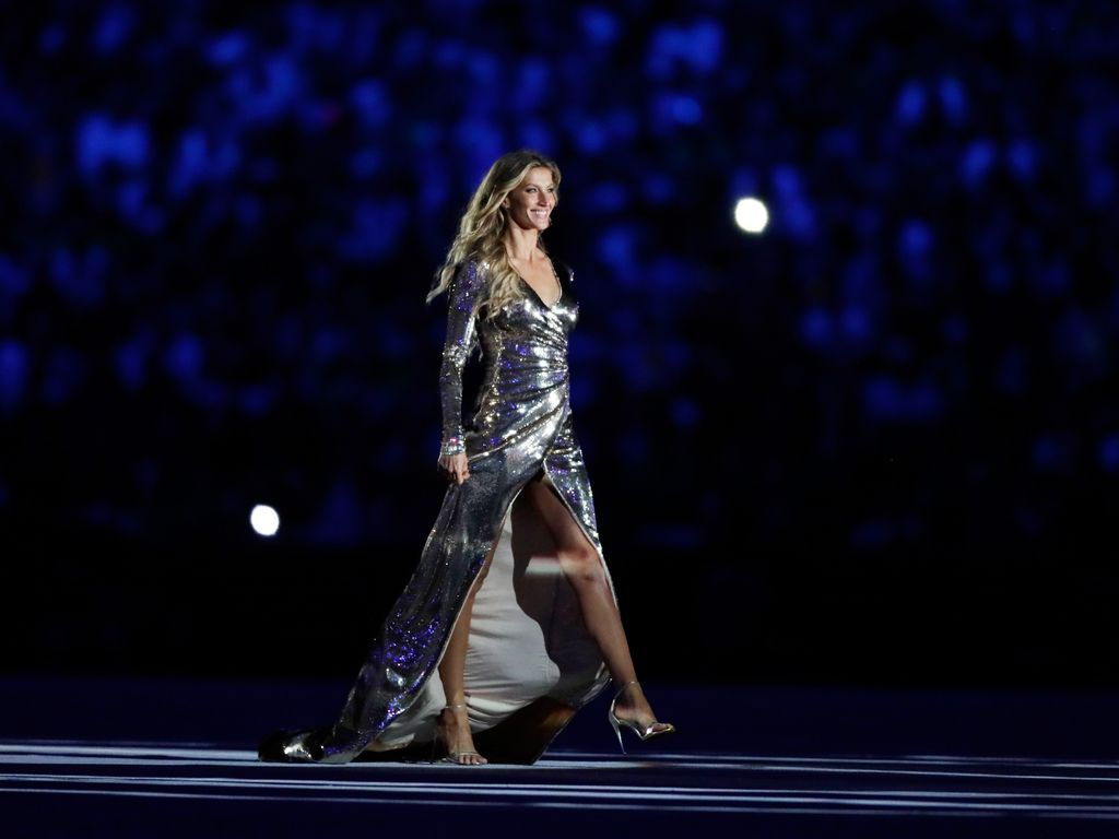 Gisele Bündchen bei der Eröffnungszeremonie der Olympischen Spiele 2016