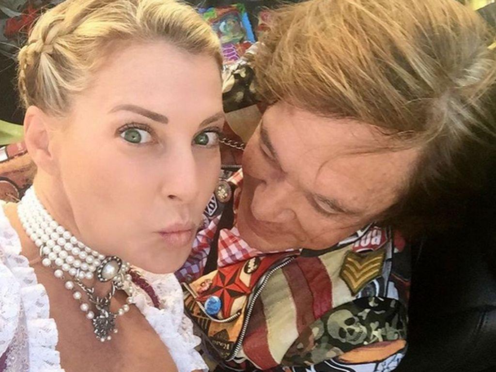 Jürgen Drews und Giulia Siegel