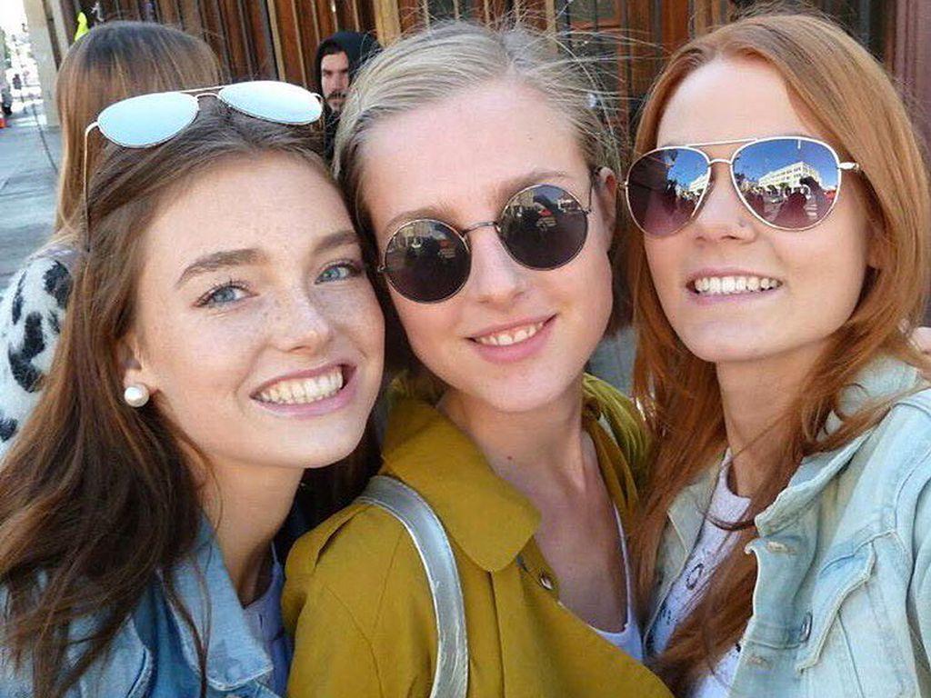GNTM-Kandidatinnen Céline, Maja und Lynn