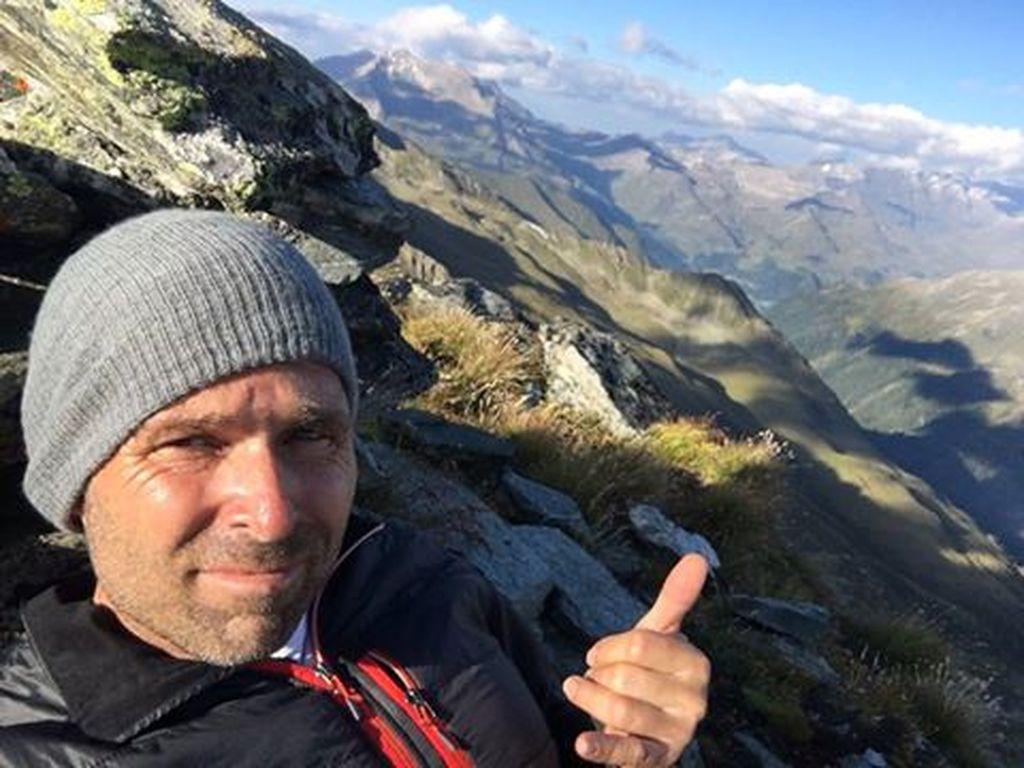 Hannes Arch in den Bergen