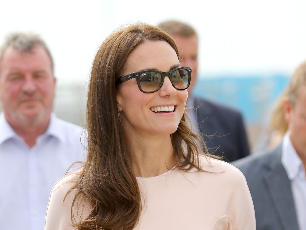 Herzogin Kate bei ihrem Cornwall-Besuch