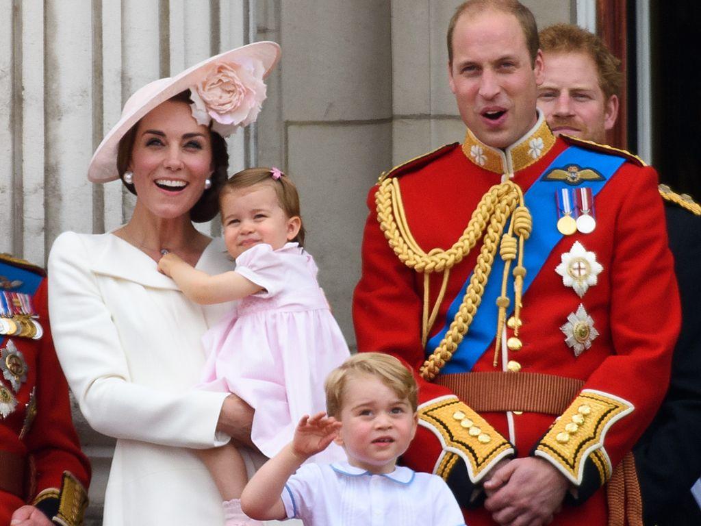 Herzogin Kate, Prinz William, George und Charlotte