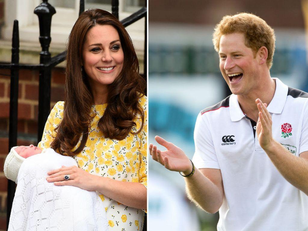 Herzogin Kate, Prinz Harry und Prinzessin Charlotte