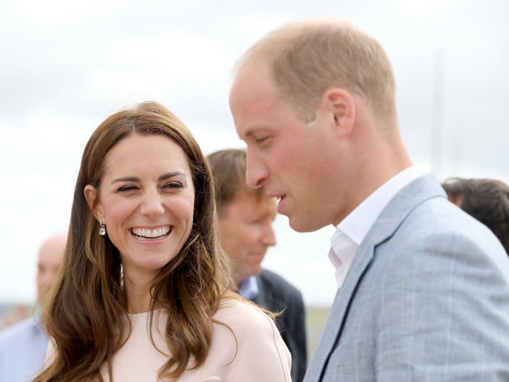 Herzogin Kate und Prinz William bei einem Besuch in Cornwall 2016