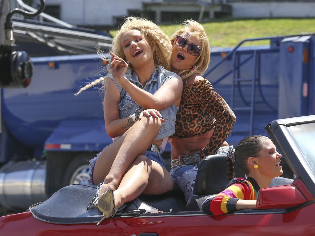 Britney Spears und Iggy Azalea
