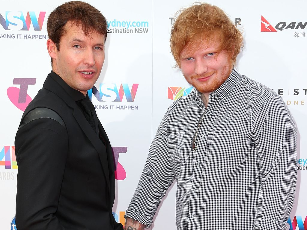 Ed Sheeran und James Blunt