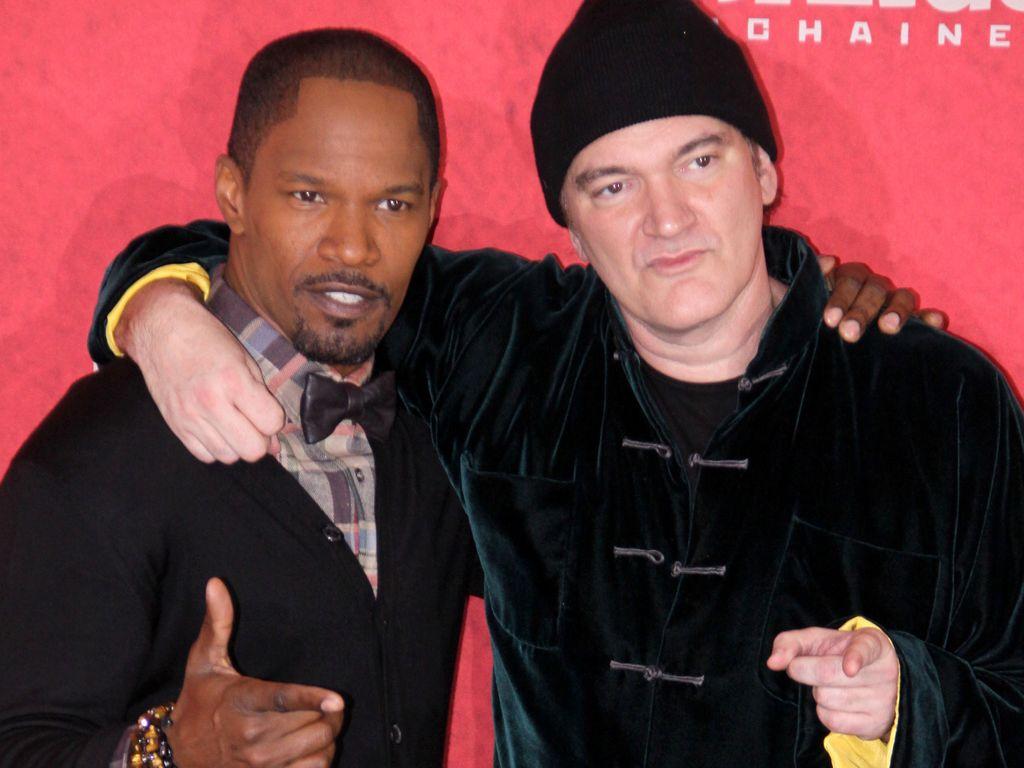 Jamie Foxx und Quentin Tarantino