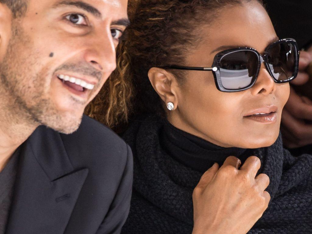 Wissam Al Mana und Janet Jackson in Paris