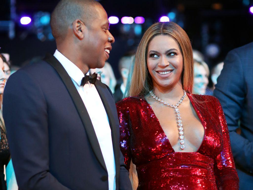 Jay-Z und Beyoncé bei den Grammys 2017
