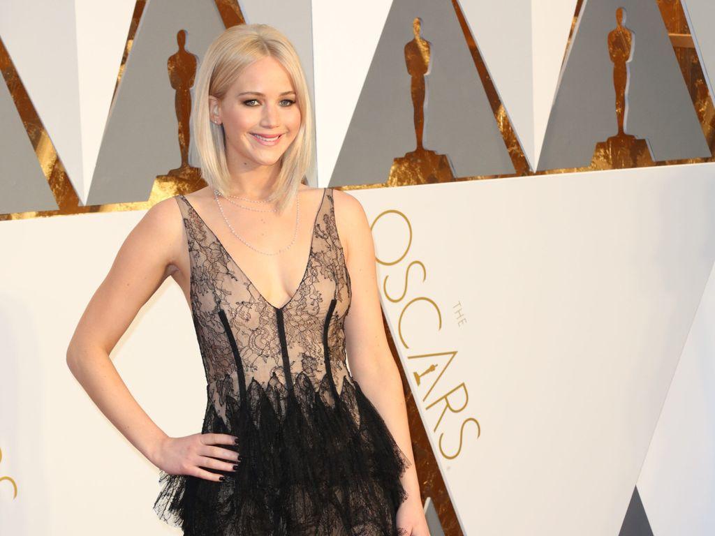 Jennifer Lawrence auf dem roten Teppich